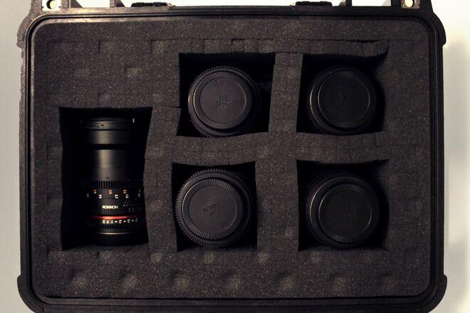 Rokinon Cine DS EF Mount - 5 Lens Set (16, 24, 35, 50, 85)