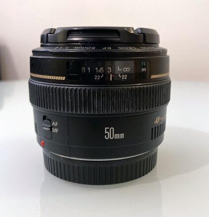 Canon EF 50mm f/1.4 USM EF Mount Lens