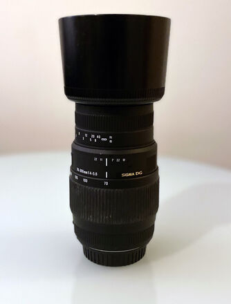 Sigma 70-300mm f/4-5.6 DG Macro EF Mount Telephoto Zoom Lens