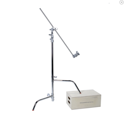 """Matthews 40"""" C-Stand with Sliding Leg Includes Grip Head and"""