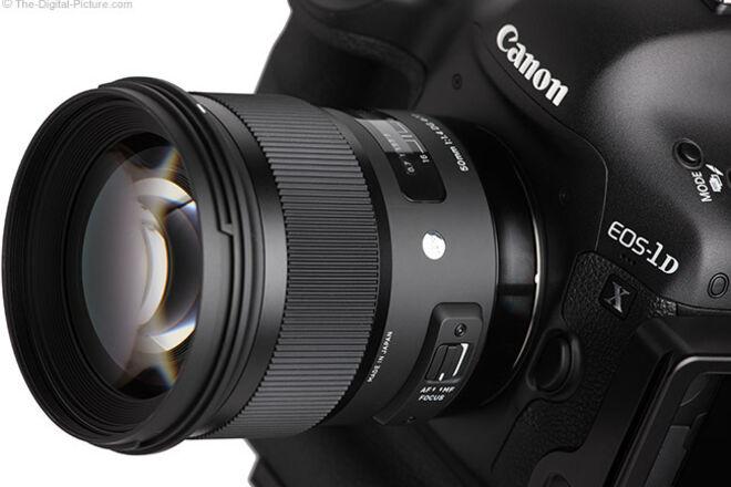 Canon EOS-1D X Mark II w/ Sigma Lens KIT