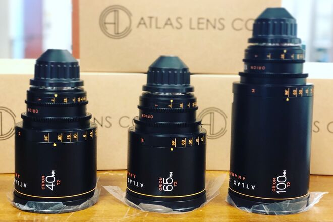Atlas Anamorphic 3-Lens Set (40/65/100)
