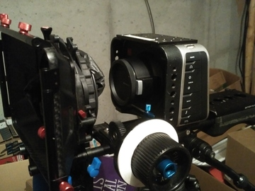 Rent: Black Magic Cinema Camera 2.5K Package