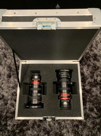 Angenieux Optimo 2 Lens Bundle - 16-40mm T2.8 & 48-130mm T3