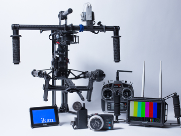 Rent: Complete MoVI M10 Package, Follow Focus, Wireless Video