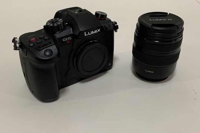 PANSASONIC GH5s with 12-35mm f/2.8 lens