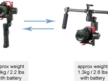 Rent: Came tv optimus gimbal