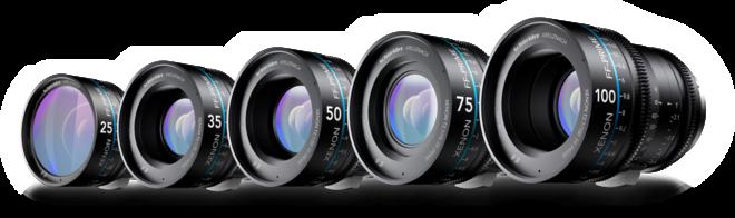 Schneider Xenon FF Lens Set (EF) Pick 3