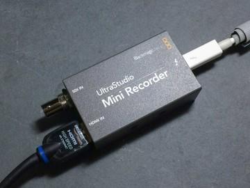 Rent: BLACKMAGIC Mini Recorder with Cables