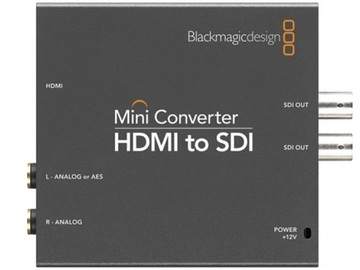 Rent: BLACKMAGIC HDMI To SDI Converter with cables