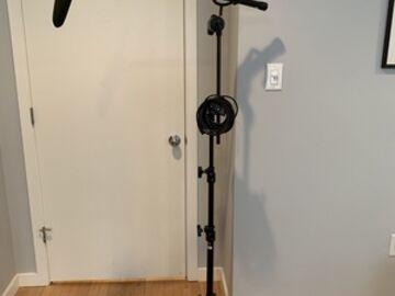 Rent: full boom mic kit for sit-down interview setup