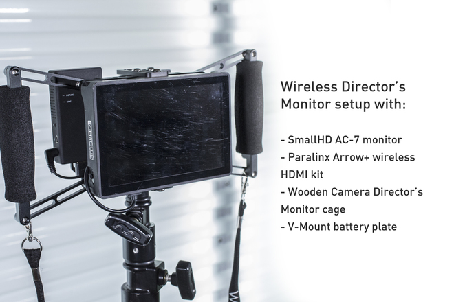 HDMI Directors Monitor Kit with SmallHD AC7 Monitor