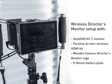 Rent: HDMI Directors Monitor Kit with SmallHD AC7 Monitor