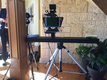 Rent: One Man Crew parabolic auto-slider by Redrock Micro