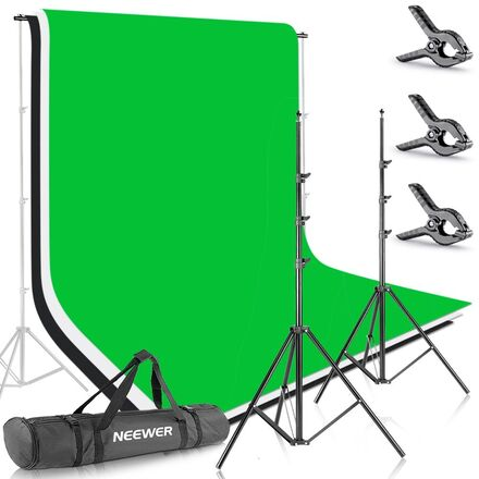 Neewer 8.5ftX10ft / 2.6MX3M Backdrop System incl. Backdrops