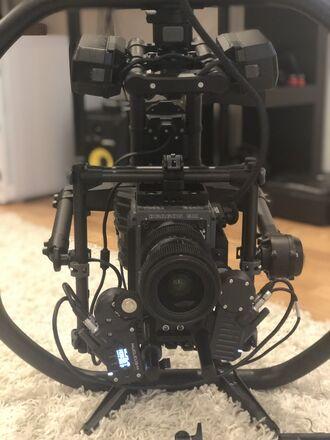 Freefly MoVI Pro  +  Red Cinema 5k  +  Tilta Nucleus M