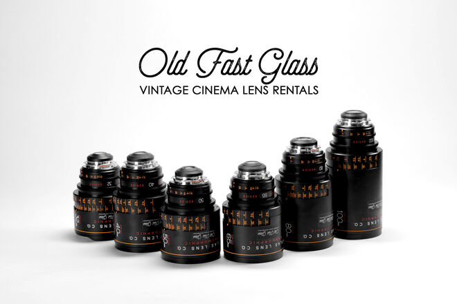 Atlas Lens Co. Anamorphic - 6 LENS SET