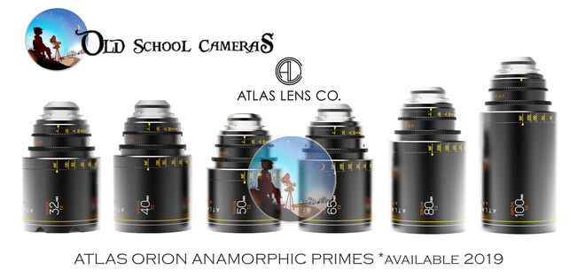 ATLAS ORION T2 ANAMORPHIC (6 LENS)