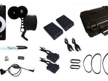 Rent: Lenzhound Deluxe Kit - Wireless Follow Focus