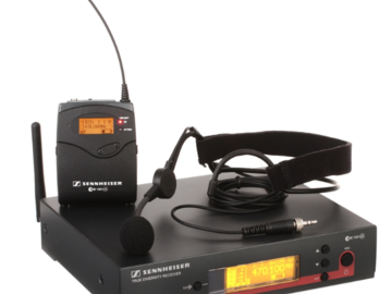 Rent: Headset Mic -- Sennheiser EW 152 G3 - A-1 Band, 470-516 MHz