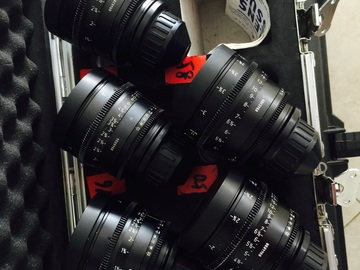 Rent: Ultra Prime Lenses T1.9 (16/24/32/50/85mm)
