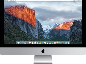 "Rent: DIT Station: 27"" iMac with 4K Retina Display"