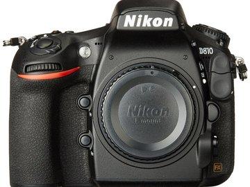 Rent: Nikon D810 DSLR Camera