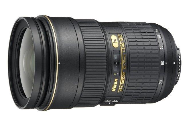 Nikon AF-S FX Nikkor 24-70mm Lens