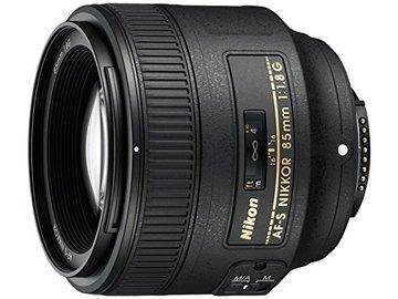 Rent: Nikon AF FX NIkkor 85mm f//1.8 Lens