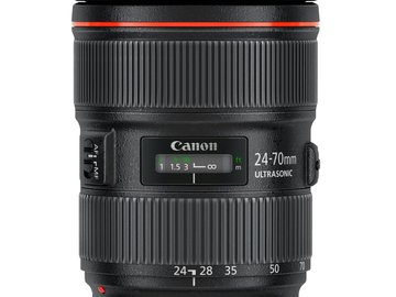 Rent: Canon EF 24-70mm f/2.8L II USM Standard Zoom Lens