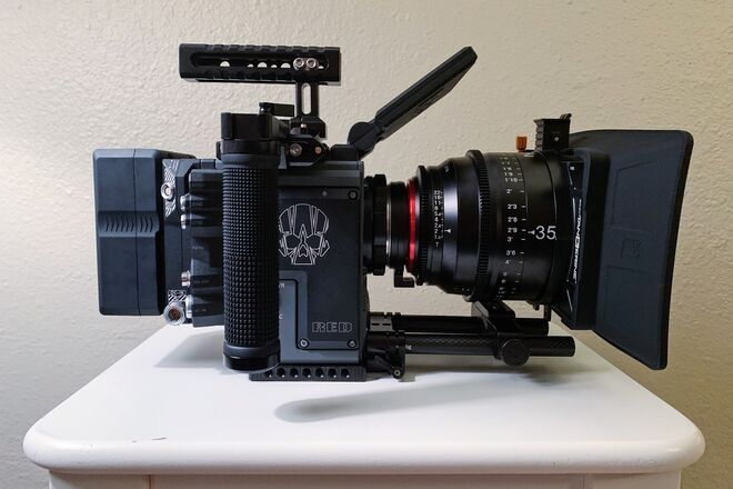 RED Scarlet-W Dragon 5K Shooter Ready Package