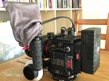 Rent: Red Epic-W 8K Cinema Camera and Lens Package