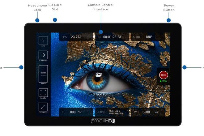 SmallHD Cine 7 Monitor + ARRI Control