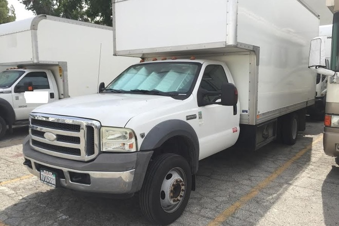16ft Cube Truck Ford F550