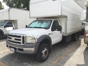 Rent: 16ft Cube Truck Ford F550