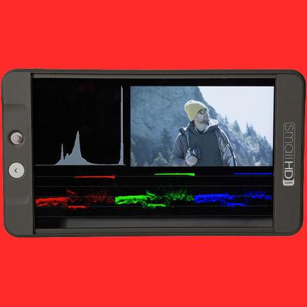 SmallHD 702 Bright HD On-Camera Monitor w/ noga arm