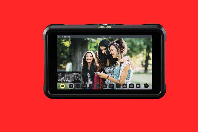 Atomos Shinobi 5-in 4K Monitor SDI/HDMI w/camera arm