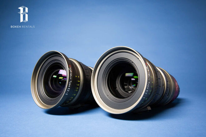 Angenieux EZ-1 & EZ-2 S35 & FF Zoom Lenses