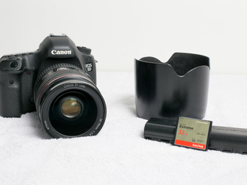 Rent: Canon 5D Mark 3 with 24-70 f/2.8 Mark 1 Package