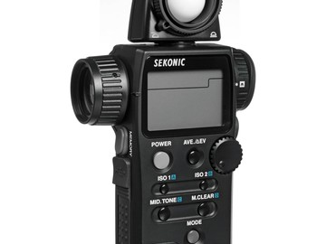 Rent: Sekonic L-758 Cine Digital Master Light Meter