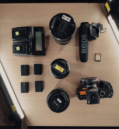 Sony a7R II Camera Package + Lenses