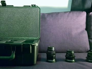 Rent: Zeiss Duclos Cine-Mod Speed Set 1.4 (35mm, 50mm, 85mm)