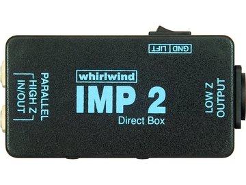 Rent: Whirlwind IMP 2 Passive DI Box
