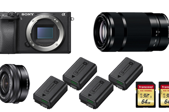 Sony Alpha a6300 Rental Kit