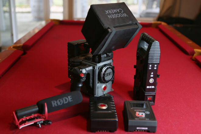 RED Scarlet-W Ready To Shoot Package (Excluding Lenses)