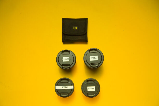 Rokinon Cine DS Lens Kit (4 Lens + Filters)