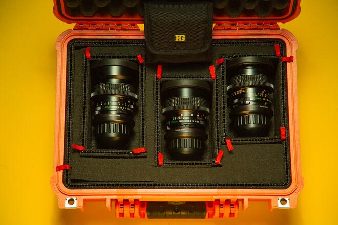 Mamiya 645 Sekor-C Cine PL Lens Set