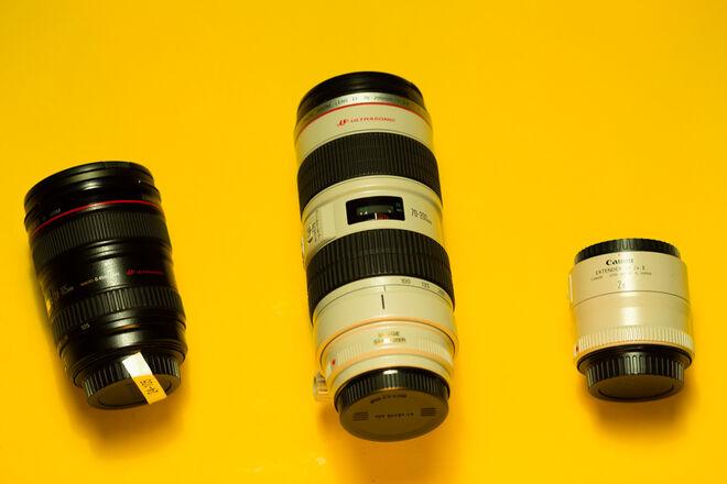 Canon L Series Zoom Lens Set