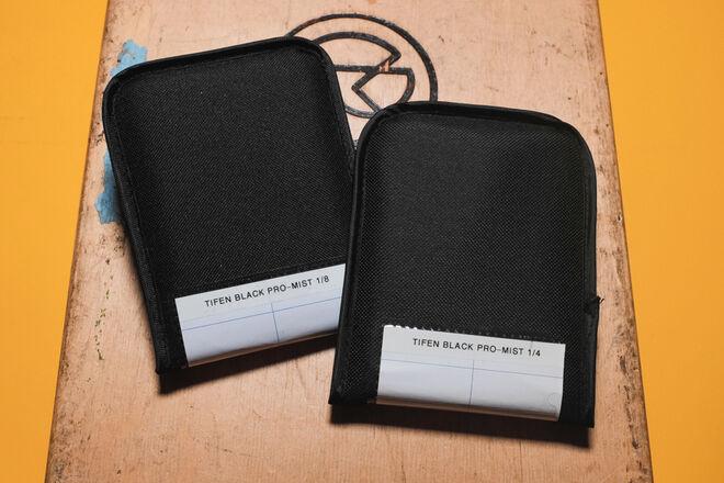 Tiffen 4x5.65-in Black Pro-Mist 1/8, 1/4 Filter Set