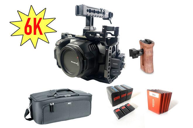 Blackmagic Cinema 6K - BASIC - Run 'N Gun kit w/ 2TB